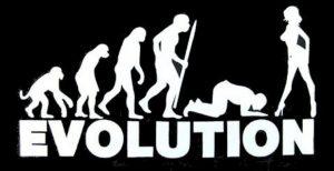 эволюция мужчины с юмором